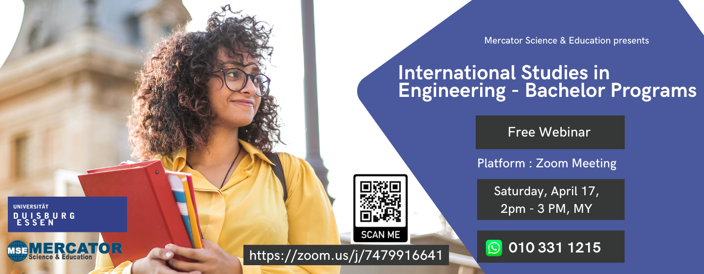 International studies in engineering webinar